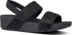 """""""FitFlop Mina Crystal Back-Strap sandelen dames zwart """""""