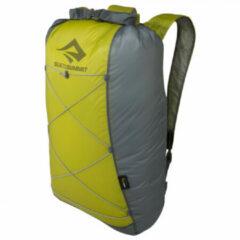 Gele Sea to Summit - Ultra-Sil Dry Daypack 22L - Dagbepakking maat 22 l zwart/geel/grijs