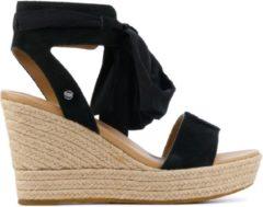 UGG Australia UGG Wittley 1108534 suède sandalettes zwart