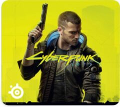 Gele SteelSeries QcK Gaming Mouse Pad, Large Cyberpunk