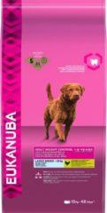 Eukanuba Dog Adult - Grote Rassen - Gewichtscontrole - Hondenvoer - 12 kg