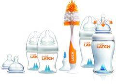 Transparante Munchkin Latch Baby fles Startersset voor pasgeborenen