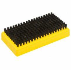 Toko - Base Brush Horsehair - Borstel geel/zwart
