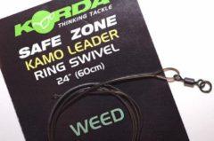 Groene Korda Camouflage Leaders + Ringwartel - Weedy Green