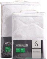 Witte Bonnanotte Waterdichte Kindermatrasbeschermer - Voor peuterbed 70x150