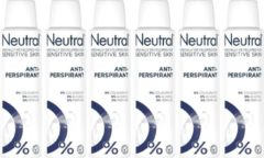 Neutral Deodorant spray Sensitive Skin - 6 x 150 ml