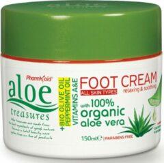 Pharmaid Aloe Treasures Moisturizer Voetcrème Olijf Olie & Pepermunt 150ml | Natuurlijk Goed