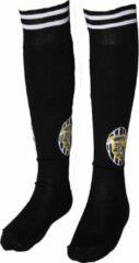 Merkloos sans marque voetbalsokken juventus piemonte calcio thuis tenue sokken replica zwart