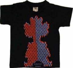 Marineblauwe B & C Anha'Lore Designs - Clown - Kinder t-shirt - Navy - 3/4 j (98/104)