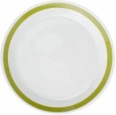 Groene Salt&pepper STRIPES diep bord 23cm (groen) set/6