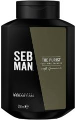 Sebastian Professional SEB Man - The Purist - Anti-Dandruff / Purifying Shampoo - 250 ml
