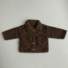Bruine Merkloos / Sans marque Buddybu teddy jack maat 8-12M