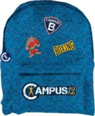 Blauwe School rugzak Campus 12: 32x42x10 cm (07910018)