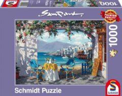 Schmidt Rendez-vous op Mykonos, 1000 stukjes Puzzel