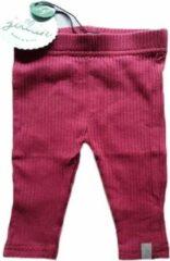 Babykledingenzo Jollein legging Rib rood