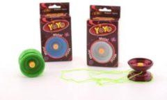 Johntoy Metalen Jojo | YoYo Basic diverse kleuren inclusief extra touw