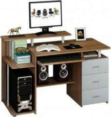 Hjh office STELLA | 137x60 - Bureaus Walnoot