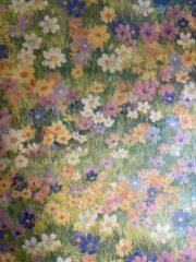 Blauwe MTis 24 Vellen cadeaupapier Romantische Bloemen 50x70cm - Sh-Rb