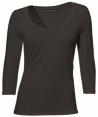 Bruine Shirt met ronde hals