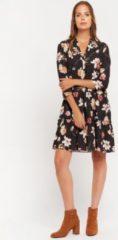 Oranje LOLALIZA Mini jurk met bloemenprint Dames Jurk Maat XS
