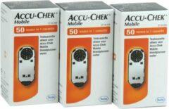 Oranje Roche Diabetes Care Accu-Chek Mobile Testcassettes, per 150 testen