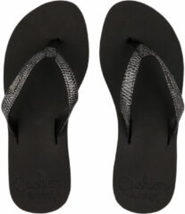 Reef Star Cushion Sassy Slipper Dames Zwart/Donkergrijs
