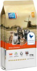 Carocroc With Chicken Gevogelte&Rijst&Granen - Kattenvoer - 2 kg - Kattenvoer