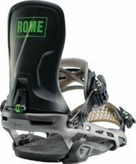 Rome Targa snowboardbindingen zwart 19/20