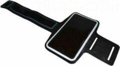 Zwarte I12Cover Comfortabele Smartphone Sport Armband voor uw Oneplus One
