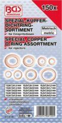 Verstuiver ringen assortiment koper, 150 dl, BGS 8120