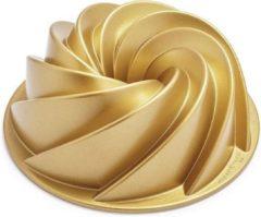 Gouden Nordic Ware Heritage Bundt bakvorm 25 cm