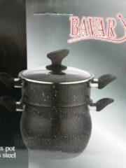 Zwarte Bavary Couscous pan 8 liter