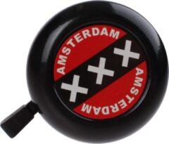 TOM Amsterdam XXX Fietsbel - 50 mm - Zwart/Rood