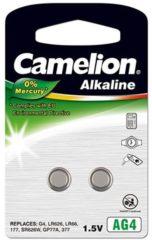 Camelion AG4 Knoopcel Alkaline (Alkali-mangaan) 20 mAh 1.5 V 2 stuks