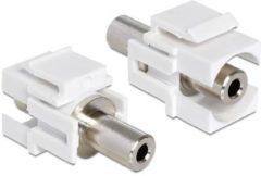 Quality4All Keystone-Modul Stereo-Klinkenstecker 3,5 mm Buchse DeLOCK > Stereo