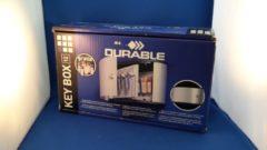 DURABLE Key Box 12, metalic-zilver, aluminium, 160 x 302x118 mm, 1, 3kg