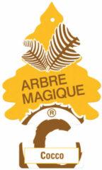 Wonderboom Arbre Magique Luchtverfrisser Cocos Geel/bruin