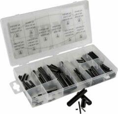 JBM Tools | set van cilindrische pennen 120-Delig - Roll pin assortiment
