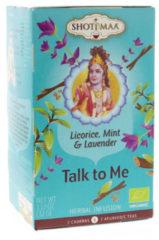 Witte Yogi & Yogini Shoti Maa munt, zoethout & lavendel thee BIO - 38.4 - Biologisch (6 stuks)