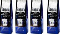 Bialetti Moka Intenso gemalen koffie - 4 x 250 gram