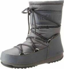Grijze Moon Boot Women mid nylon wp castlerock