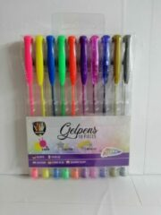 Grafix - Gelpennen 10 stuks - Neon - Glitter - Metalic