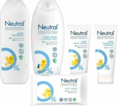 Neutral Baby Verzorgingspakket - 5 Delig