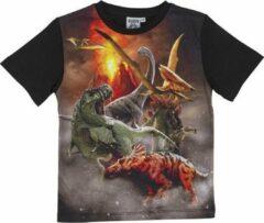 Nature planet - Dinosaurus Unisex T-shirt Maat 128