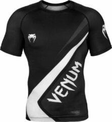 Venum Rashguard Contender 4.0 Zwart/Wit Large