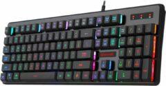 Redragon K509 RGB verlichte DYAUS Gaming toetsenbord | RGB verlichting QWERTY Gaming keyboard