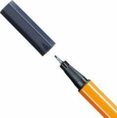 Donkergrijze STABILO point 88 Fineliner 0,4 mm Payne's Grijs - per stuk