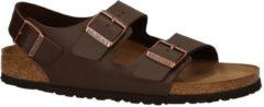 Birkenstock - Milano - Sportieve sandalen - Heren - Maat 41 - Bruin - Dark Brown BF