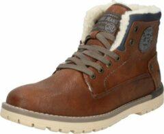 Bruine Boots en enkellaarsjes Legsar by Mustang shoes