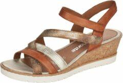 Remonte Dames Sandalette R6251-22 Bruin/Combi - Maat 37
